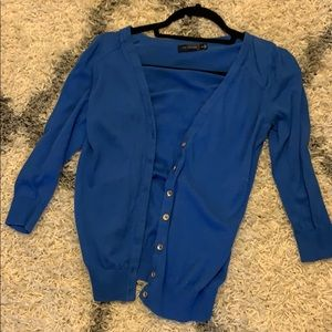 The limited blue cardigan